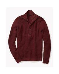 Theory | Red Villen Sweater In Cashwool for Men | Lyst