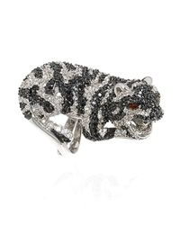 Noir Jewelry - Metallic Amelia The Tiger Ring - Lyst