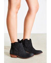 Dolce Vita - Black Colynn Western Ankle Boot - Lyst