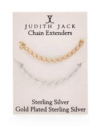 Judith Jack | Metallic Necklace Extender | Lyst