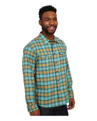 Patagonia | Green L/s Buckshot Shirt for Men | Lyst