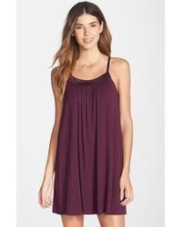 Midnight By Carole Hochman - Purple 'looking For Love' Chemise - Lyst
