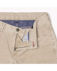 Tommy Hilfiger | Natural Corduroy Slim Fit Chino for Men | Lyst