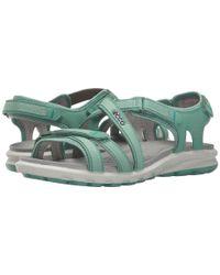 Ecco - Blue Cruise Strap Sandal - Lyst