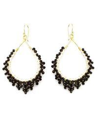 Nakamol - Multicolor Crystal Tears Earrings-black - Lyst