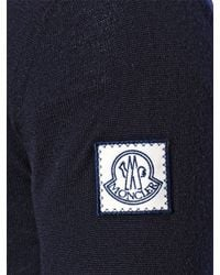 Moncler Gamme Bleu | Blue Virgin Wool Cardigan for Men | Lyst