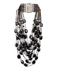 Rosantica By Michela Panero | Black Sacramento Onyx Necklace | Lyst