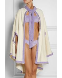 Lisa Marie Fernandez - White Cotton-Terry Beach Cape - Lyst