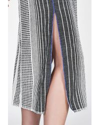 lemlem - Gray Biftu Long Split Skirt - Lyst