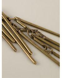 Isabel Marant | Metallic Fringe Earrings | Lyst