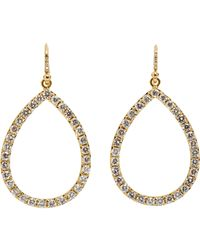 Irene Neuwirth | Metallic Women's Cutout Drop Earrings | Lyst