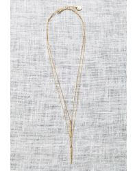Forever 21 - Metallic Katie Dean Double Dipping Necklace - Lyst