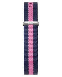 Daniel Wellington - Blue 0952dw Women's Winchester Classy Canvas Strap Watch - Lyst