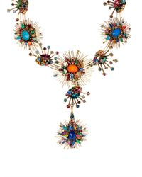 Erickson Beamon | Multicolor Telepathic Gold-Plated Crystal Necklace | Lyst
