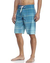 Billabong | Blue All Day Plaid X Board Shorts for Men | Lyst
