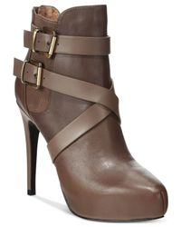 Charles by Charles David | Brown Fame Booties | Lyst