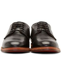 H by Hudson - Black Hadstone Calf Derby Shoes for Men - Lyst