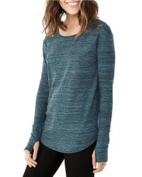 Alternative Apparel | Blue Roundabout Top | Lyst
