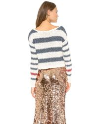 Free People - Multicolor Sailor Song Pullover - Lyst