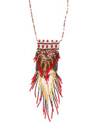 Etro - Multicolor Beaded Necklace - Lyst