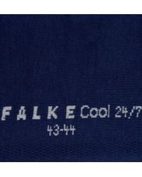 Falke - Blue Cool 24/7 Cotton-Blend Socks for Men - Lyst