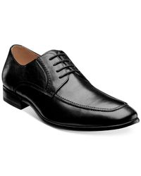 Florsheim - Black Burbank Apron Toe Oxfords for Men - Lyst
