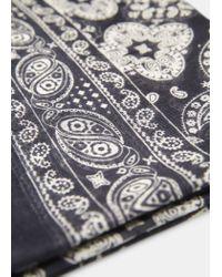 Mango | Blue Bandana Print Scarf for Men | Lyst