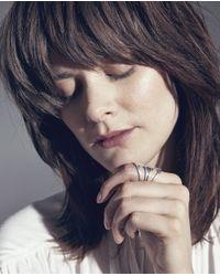 Jenny Bird - Metallic Chamber Ring - Lyst