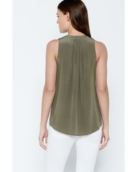 Joie | Green Carley Top | Lyst