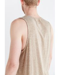 BDG - Gray Speckled Tank Top for Men - Lyst