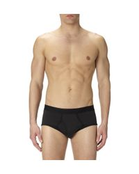 Sunspel | Black Men's Superfine Cotton Brief for Men | Lyst