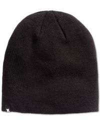 Hurley | Black One And Only 2.0 Beanie for Men | Lyst