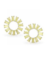 Dana Rebecca | Anna Beth Yellow Sapphire Starburst Earrings | Lyst