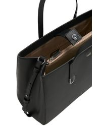 HUGO - Black Leather Shopper: 'norah' - Lyst