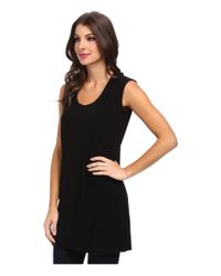 Kamalikulture | Black Go Sleeveless U-neck Tunic | Lyst