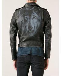 DIESEL - Black Lseddick Jacket for Men - Lyst