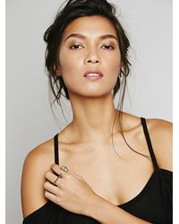 Free People | Metallic Marly Moretti Womens Open Crescent Ring | Lyst