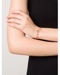 Miansai - Orange Mini Anchor Bracelet - Lyst