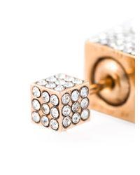 Vita Fede | Metallic 'double Cubo' Earrings | Lyst