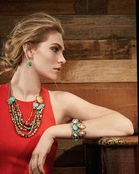 Alexis Bittar - Blue Elements Mixed-stone Hinge Bracelet for Men - Lyst