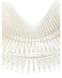 Sarah Angold Studio   White Capitra Necklace   Lyst