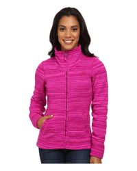 The North Face | Purple Crescent Sunset Full Zip Jacket | Lyst