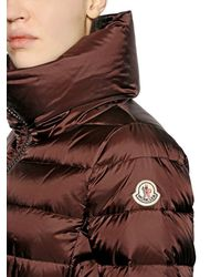 Moncler | Brown Talcy Matte Nylon Down Jacket | Lyst