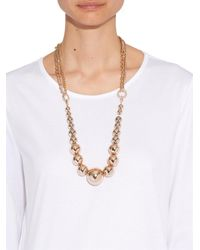 Max Mara - Metallic Florida Necklace - Lyst