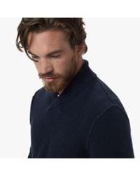 James Perse - Blue Merino Blend Pullover Sweater for Men - Lyst