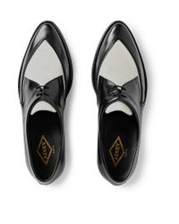 Adieu | Black Type 36 Two-Tone Leather Derby Shoes for Men | Lyst