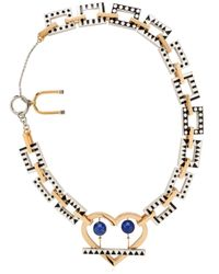 Uribe | Metallic Nico + Lou Necklace | Lyst