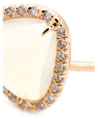 Kimberly Mcdonald - Metallic Diamond Pavé Opal Bangle - Lyst
