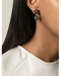 Givenchy | Metallic Star Earrings | Lyst