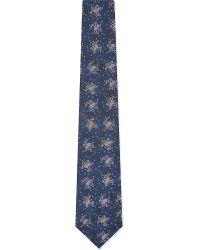 Richard James - Blue Authentic Brocade Floral Tie - For Men for Men - Lyst